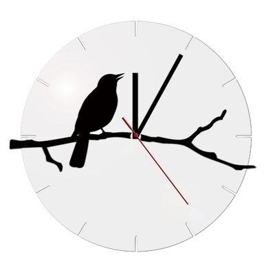 ModernClock Analoge Wanduhr Bird