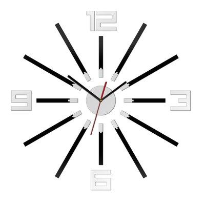ModernClock Analoge Wanduhr XXL 65 cm