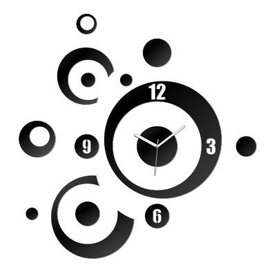 ModernClock Analoge Wanduhr XXL 60 cm