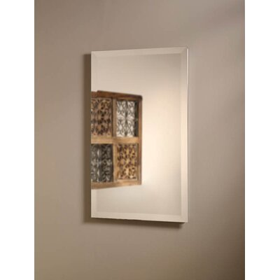 "Jensen Perfect Square 16"" x 26"" Recessed Beveled Edge Medicine Cabinet"
