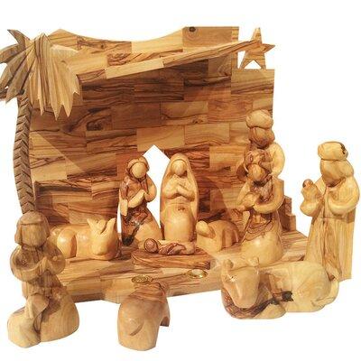 Three Wisemen's Gifts Nativity Set