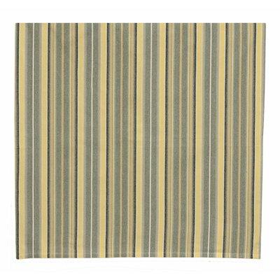 """100% Cotton Striped Tablecloth Size: 60"""" W x 60"""" L"""