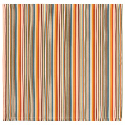 """Cocoa Beach Cotton Stripe Tablecloth Size: 60"""" x 60"""""""