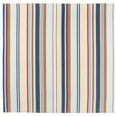 """Deck Hand Cotton Striped Tablecloth Size: 60"""" x 60"""""""