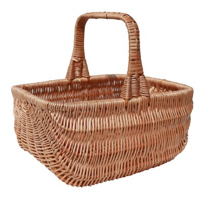 CandiGifts Southport Wicker Shopping Basket