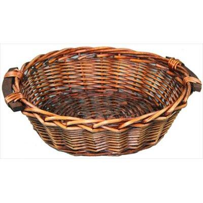 CandiGifts Chunky Oval Wicker Basket
