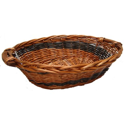 CandiGifts Chunky Oval Wicker Basket