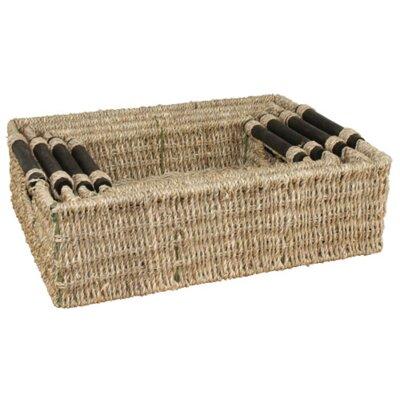 CandiGifts 4 Piece Rectangular Storage Basket Set