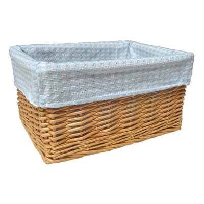CandiGifts Storage Basket with Gingham Lining
