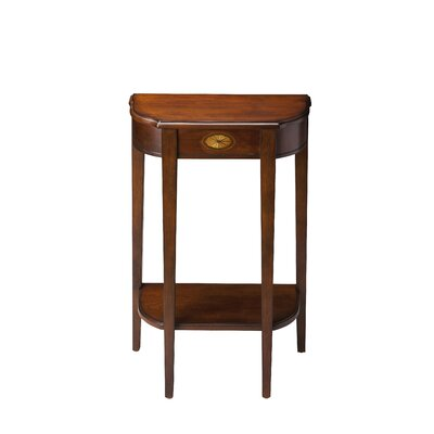 Corinne Console Table Color: Plantation Cherry