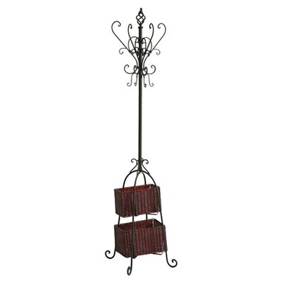 Verna Coat Rack with Storage