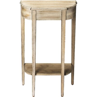 Corinne Console Table Color: Driftwood