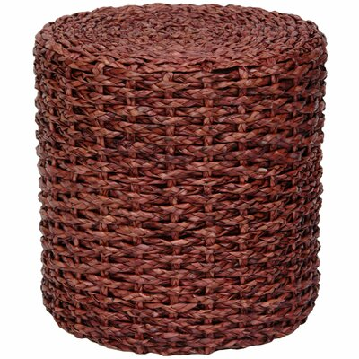 Kianna Knotwork Stool Color: Mahogany