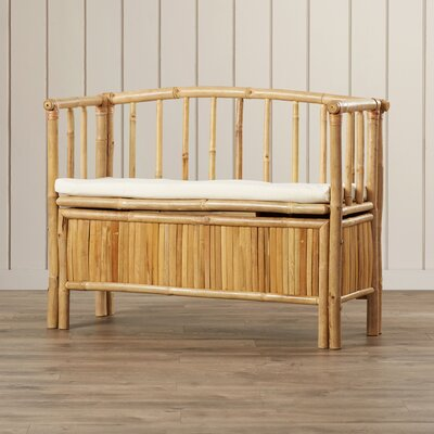 Porter Bamboo Storage Bench