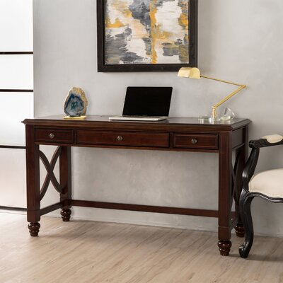 "Domingue Writing Desk Size: 30"" H x 53"" W x 22"" D"