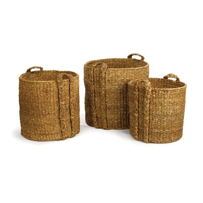 3 Piece Round Baskets Set