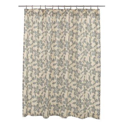 Groveland Shower Curtain Color: Sage