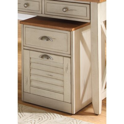 Bridgeview 2 Drawer Mobile File Cabinet
