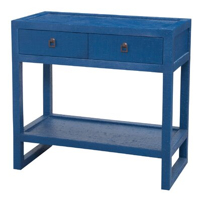 Brantwood Console Table Color: Navy