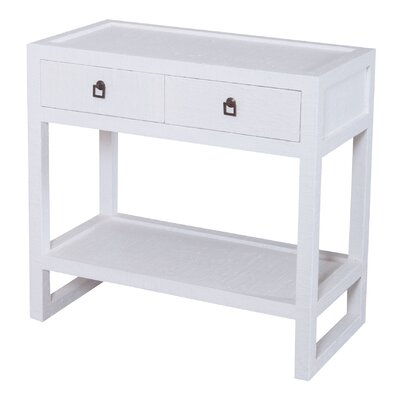 Brantwood Console Table Color: White