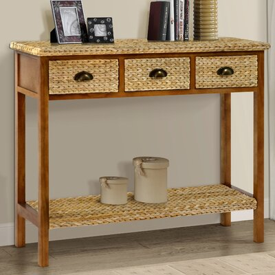 Nobles Console table Color: Natural