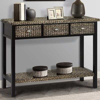 Nobles Console table Color: Silver Grey Patina