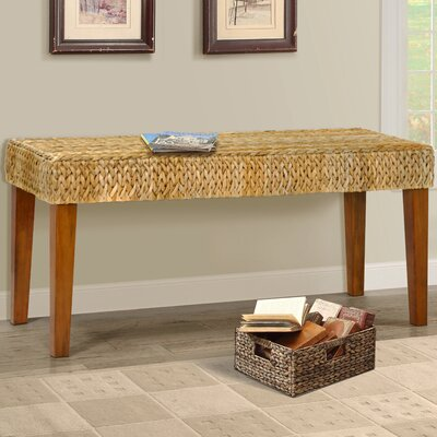 Nobles Wood Hallway Bench Color: Natural