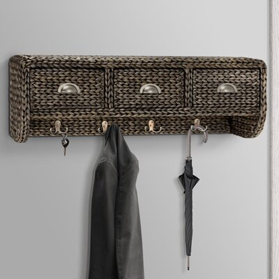 Nobles Wall Mounted Coat Rack Finish: Natural