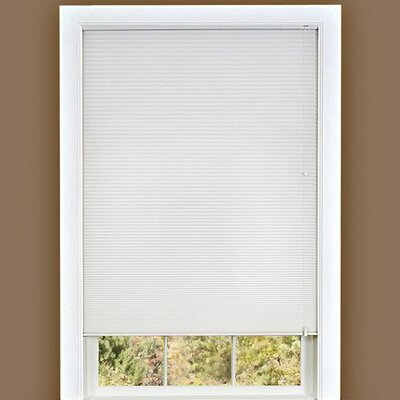 "Cellular shade Size: 23"" W x 64"" D, Color: White"