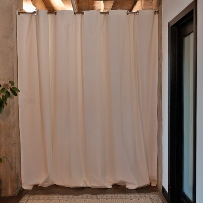 Muslin Room Divider Color: White