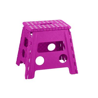 Large Folding Stool Color: Pink