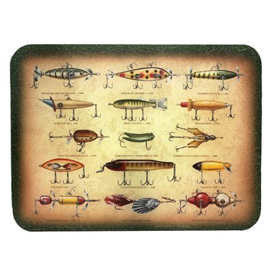 Antique Lure Cutting Board