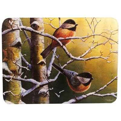 Chickadees Cutting Board