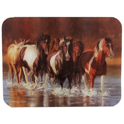 Horse, Rush Hour Cutting Board