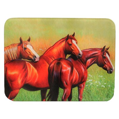Three Horse Cutting Board