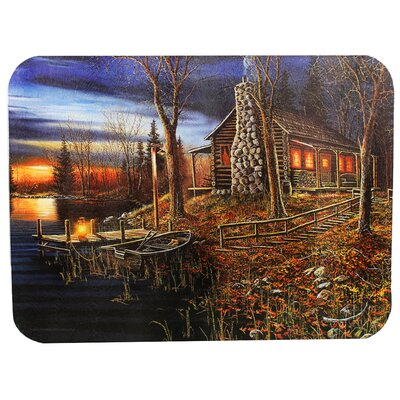 Cabin Scene Cutting Board