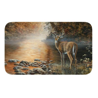 Deer Scene Bath Rug