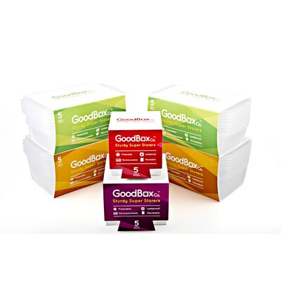 GoodBoxCo 30-Piece Food Container Set