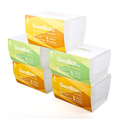 GoodBoxCo 25-Piece Food Container Set