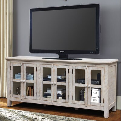 """Geers Antique 70"""" TV Stand Color: White"""