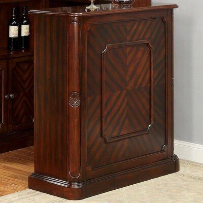 Batten Bar with Wine Storage