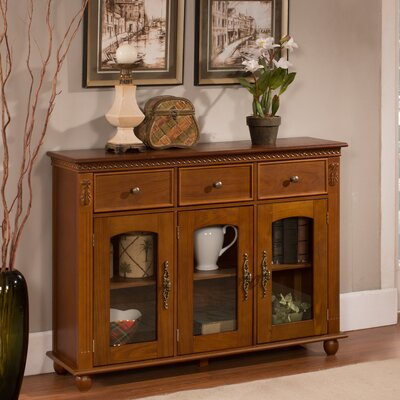 Michigamme 3 Drawer 3 Door Accent Cabinet
