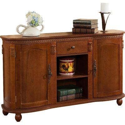 Alvey 2 Door 1 Drawer Accent Cabinet