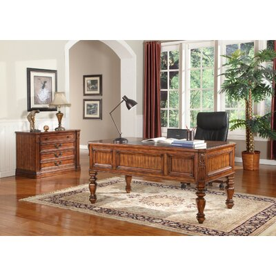 Gunnersbury 2 Piece Desk Office Suite