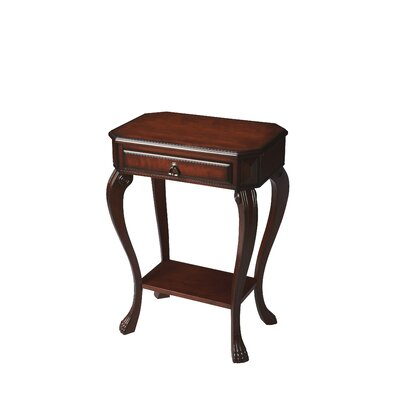 Copley Channing Console Table Color: Cherry