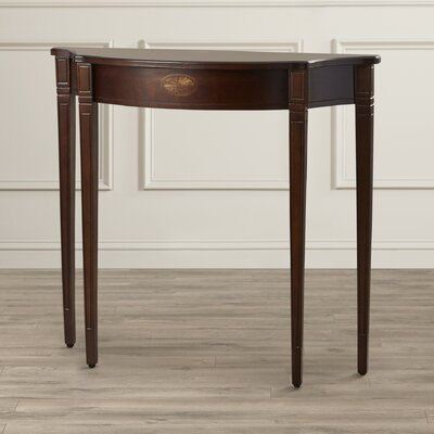 Bedingfield Console Table Color: Espresso