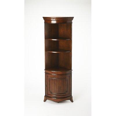 Chaffee 1 Door Accent Cabinet Color: Cherry
