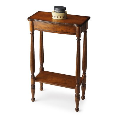Tamworth Console Table Color: Distressed Antique Cherry