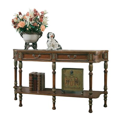 Bedingfield Console Table Color: Cherry