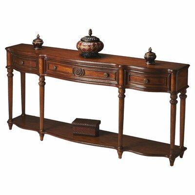 Adalia Console Table Color: Vintage Oak